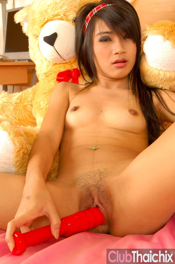 sansanee-with-dildo-up-her-pussy
